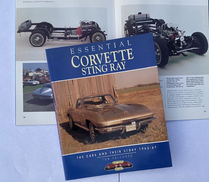 Essential Corvette Sting Ray 1963-1967 by Tom Falconer